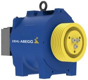 Pohon výťahu špičkovej kvality od renomovaného výrobcu Ziehl-Abegg